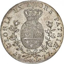 錢幣 > 1斯貝代勒, 1777 - 丹麥王國  - reverse