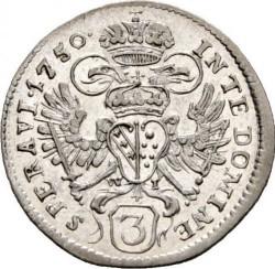 Moneda > 3kreuzer, 1747-1750 - Austria  - reverse