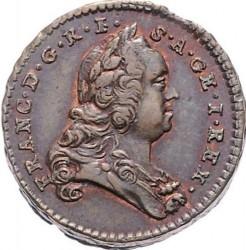 Minca > ½grajciara, 1760-1764 - Rakúsko  - obverse