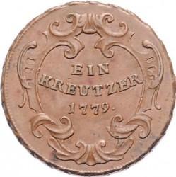 Münze > 1Kreuzer, 1772-1779 - Österreich   (Maria Theresia) - reverse