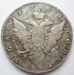 Монета > 1рубль, 1777-1782 - Россия  - reverse
