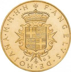 Монета > 10скуди, 1962-1963 - Малтийски орден  - obverse