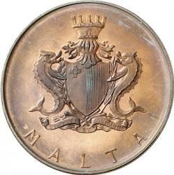 Монета > 50лір, 1973 - Мальта  (Кастильське подвір'я) - obverse
