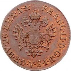 سکه > ¼کرویزر, 1800 - اتریش   - obverse