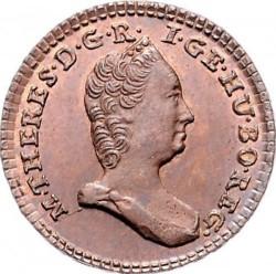 Монета > ½крейцера, 1760-1764 - Австрія  - obverse