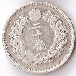 Monēta > 20senu, 1906-1911 - Japāna  - reverse