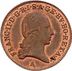 سکه > ½کرویزر, 1800 - اتریش   - obverse