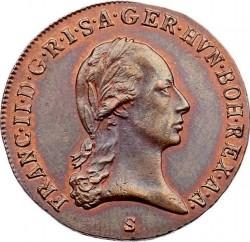 Монета > 3кройцера, 1799-1803 - Австрия  - obverse