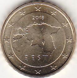 Moneda > 10céntimos, 2018 - Estonia  - obverse