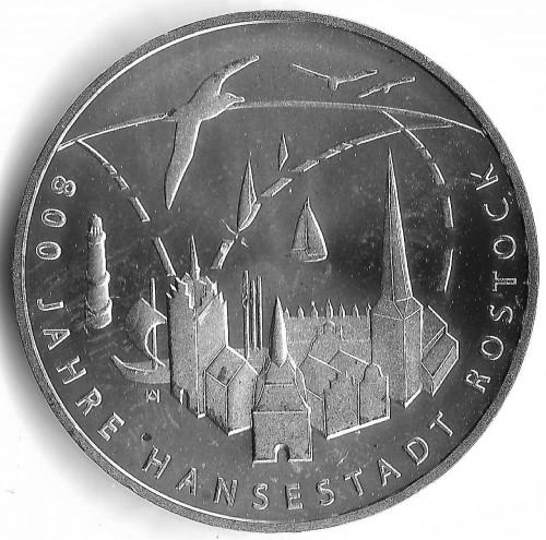 20 Euro 2018 Hansestadt Rostock Deutschland Münzen Wert Ucoinnet