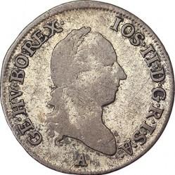 Монета > 3крейцера, 1782-1790 - Австрія  - obverse
