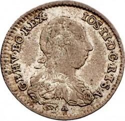 Монета > 3кройцера, 1780-1784 - Австрия  - obverse