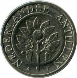 Moneda > 10centavos, 2008 - Antillas Holandesas  - reverse