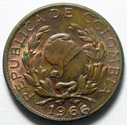 Münze > 1Centavo, 1942-1966 - Kolumbien  - obverse