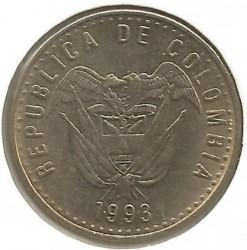 Moneda > 50pesos, 1989-2009 - Colombia  - obverse