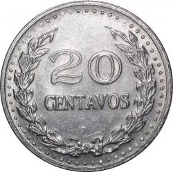 Pièce > 20centavos, 1971-1979 - Colombie  - reverse