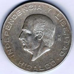 מטבע > 10פסו, 1955-1956 - מקסיקו  - reverse