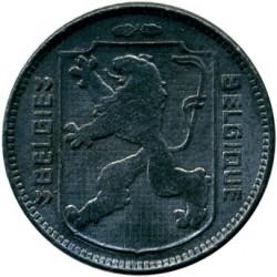 錢幣 > 1法郎, 1942-1947 - 比利時  (Legend - 'BELGIE - BELGIQUE') - obverse