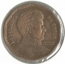 Монета > 50песо, 1981-1987 - Чилі  - obverse