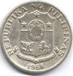 Moneta > 10 sentimos, 1967-1974 - Filippine  - reverse