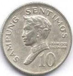 Moneta > 10sentimos, 1967-1974 - Filippine  - reverse