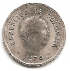 Coin > 50centavos, 1970-1982 - Colombia  - reverse