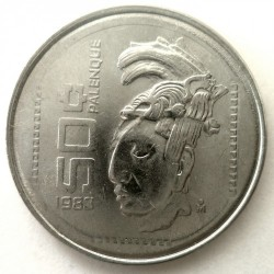 Munt > 50 centavos, 1983 - Mexico  (Stainless Steel /magnetic/) - obverse