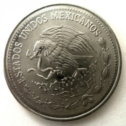 Munt > 50 centavos, 1983 - Mexico  (Stainless Steel /magnetic/) - reverse