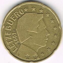 Moneta > 20centesimidieuro, 2002-2006 - Lussemburgo  - obverse