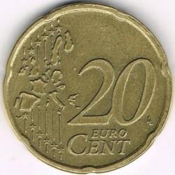 Moneta > 20centesimidieuro, 2002-2006 - Lussemburgo  - reverse