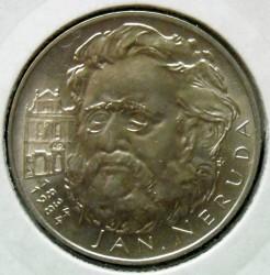 Moneta > 100corone, 1984 - Cecoslovacchia  (150° anniversario - Nascita di Jan Neruda) - reverse