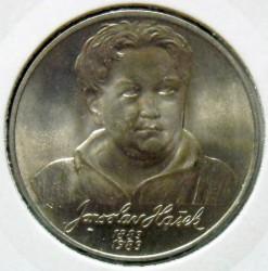 Moneta > 100corone, 1983 - Cecoslovacchia  (100° anniversario - Nascita di Jaroslav Hašek) - reverse