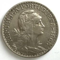 Moneda > 1escudo, 1927-1968 - Portugal  - obverse
