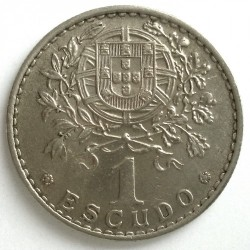 Moneda > 1escudo, 1927-1968 - Portugal  - reverse
