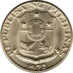 Moneda > 25céntimos, 1967-1974 - Filipinas  - obverse