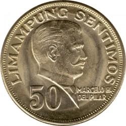Mynt > 50sentimos, 1967-1975 - Filippinene  - reverse