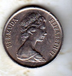 錢幣 > 10分, 1970-1985 - 百慕達  - obverse