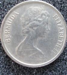 Minca > 10cents, 1971 - Bermudy  - obverse
