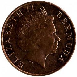 Pièce > 1cent, 2008-2009 - Bermudes  - obverse