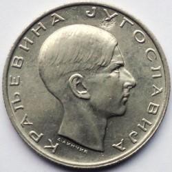 Moneda > 10dinares, 1938 - Yugoslavia  - obverse