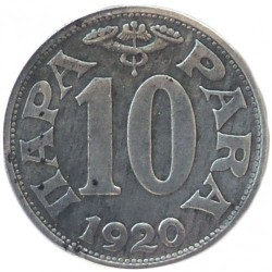 Moneda > 10para, 1920 - Yugoslavia  - reverse