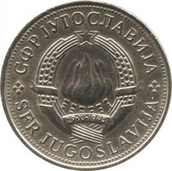 Münze > 5Dinar, 1977 - Jugoslawien  - obverse