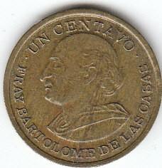 Munt > 1centavo, 1972-1973 - Guatemala  - reverse