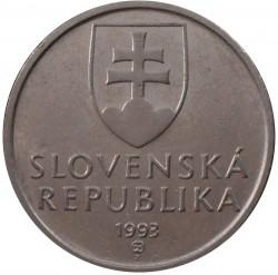 Moneta > 5koron, 1993-2008 - Słowacja  - obverse