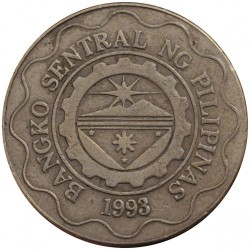 Coin > 5 piso, 2003 - Philippines  - obverse