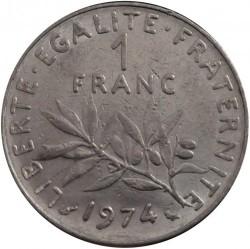 Moneda > 1franco, 1960-2001 - Francia  - reverse