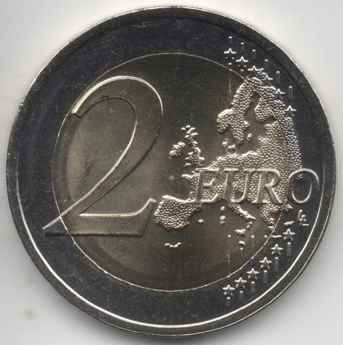 2 Euro 2015 2018 Litauen Münzen Wert Ucoinnet
