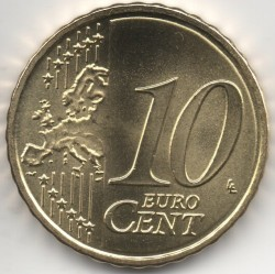 מטבע > 10סנט, 2015-2018 - ליטא  - obverse