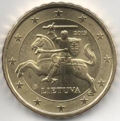 מטבע > 10סנט, 2015-2018 - ליטא  - reverse