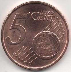 Münze > 5Eurocent, 2015-2019 - Litauen   - reverse